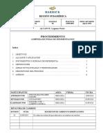 Exp-pln-004 Procedimiento Limpieza de Pozas de Sedimentacion