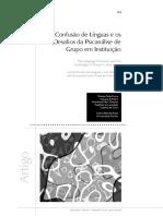 A Confusão de Línguas e os Desafios da Psicanálise de Grupo em Instituição.pdf