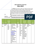 small group actionplan