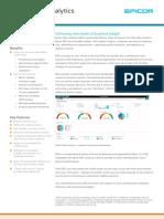Fact Sheet - Epicor ERP Data Analytics