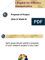 ENG1010 How to Prepare a Research Project Proposal