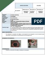Informe - Inspección Cocina Central