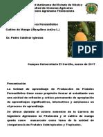 Manejo de Cultivos de Mango (Cultivos Perennifolios)