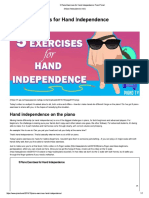 5 Piano Exercises for Hand Independence_ PianoTV