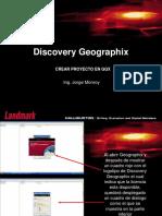 1.- Flujo Trabajo Creacion de Proyecto en GGX