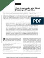 Type 1 Muscle Fiber Hypertrophy After Blood.9