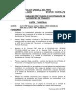 Carta Funcional Del Jefe de La Upiat Pnp