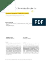 Adaptación Al Cambio Climático en Colombia
