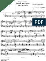 Bortkiewicz - Impressionen Op. 4