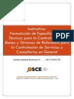 Instructivo_ Formulación de Especificaciones Técnicas Para La Contratación de Bienes