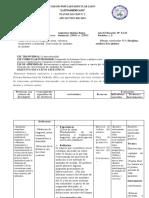 N°2-QUIMICA BASICA-10-EGB-PLAN DE CLASE N°2