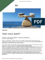 'Quali' Versus 'Quanti'_ _ Circuito Acadêmico