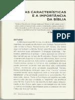 Estudo, SABER - Características e a Importância da Bíblia (parte 1).pdf