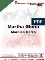 Currículum Marta Gloria Morales Garza
