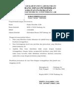 Surat Pernyataan Akreditas