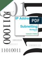 Ip Addressing and Sub Netting Workbook - Instructors Version v1 2 1