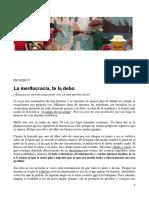 La Meritocracia Te La Debo _ El Gato y La Caja
