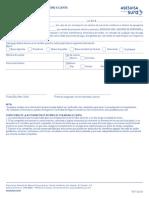 Formulario de Reembolso Con Abono a Cuenta 1