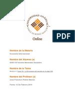 Tarea 10 La Economia Del Mundo en El Siglo Xxi
