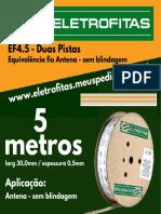 Eletrofita EF5.2 5M
