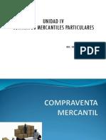 CONTRATOS MERCANTILES PARTICULARES