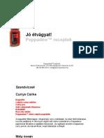 Peppadew receptek