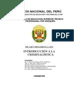 2019 - Ok Modulo Didactico de Introduccion a La Criminalistica - Imp