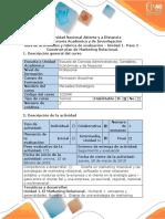 Guia de Actividades y Rúbrica de Evaluación - Paso 2. Construir Plan de Marketing Relacional