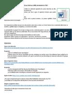 PRIMERA SECCION DE CLASES TUTORIALES DE INFORMATICA