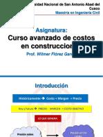 PPT Curso Avanzado de Costos en Construcciones (Semana II).pdf