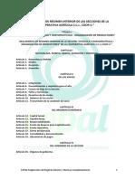 Reglamento de Regimen Interior y Normas Complementarias v2