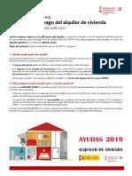 Guía Informativa Ayudas Alquiler Viviendas 2019 CS