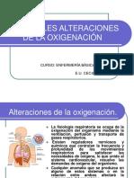 Clase 5 Principales Alteraciones de La Oxigenación