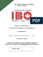 IBO2007 Practical 2