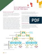 Resolvendo o desafio da tRansmissão de 100 Gb/s