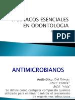 Farmacos Esenciales en Odontologia