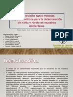 Metodos de determinacion de nitritos y nitratos.pptx