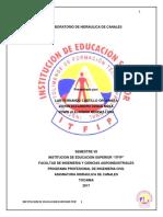 INFORME LABORATORIO HIDRAULICA CANALES(TOCAIMA).docx
