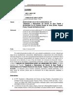 Informe Nº 49 Estudio Del Agua y Desague Informe de Incosistencia Ultimo