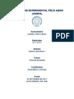 Lengua Española 1 - Tipos de Discurso