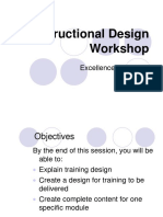 Instructional Design Workshop 122