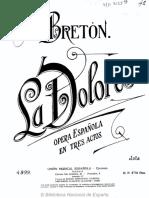 Breton Jota de La Dolores
