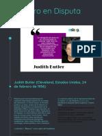 Presentacion Judit Butler