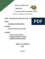 Informe de Prosidad Operaciones 1