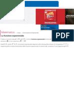 Funzione Esponenziale Definizione, Dominio e Grafico