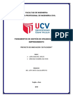 Informe Avance Proyecto Gestion