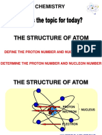 2.2 (b) Proton and Nucleon Number