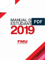 Manual Do Estudante FMU 2019