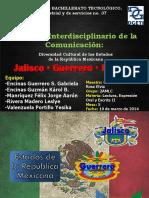 Jalisco, Guerrero e Hidalgo.pptx
