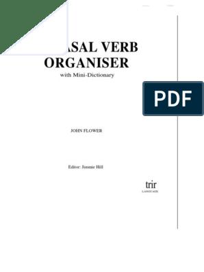 130764708-Phrasal-Verbs-Organiser pdf | Phrase | English